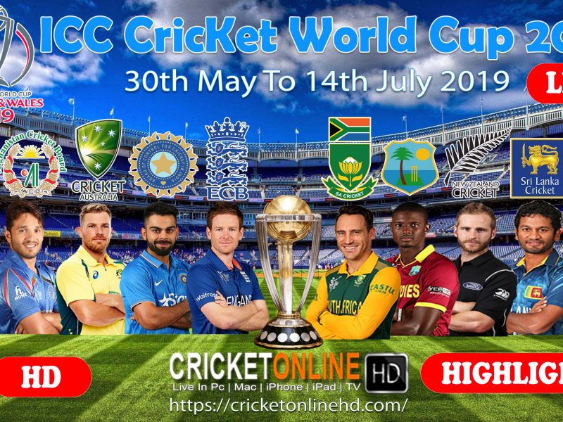 Icc World Cup 2019 Schedule, Venues, Timing Fixture & Result